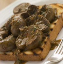 Lambs Kidneys on Toast