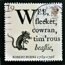 Robert Burns stamp