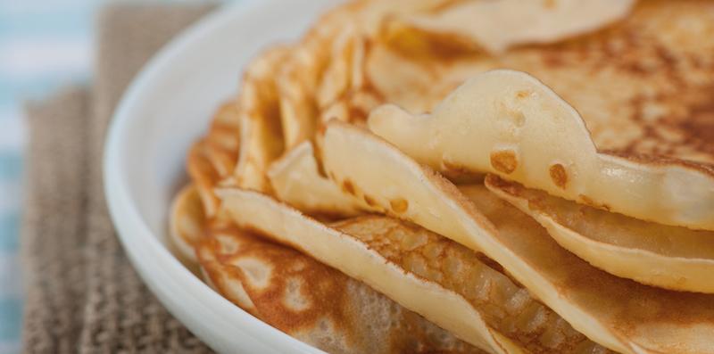 Quire, crempog & 'classic' pancakes