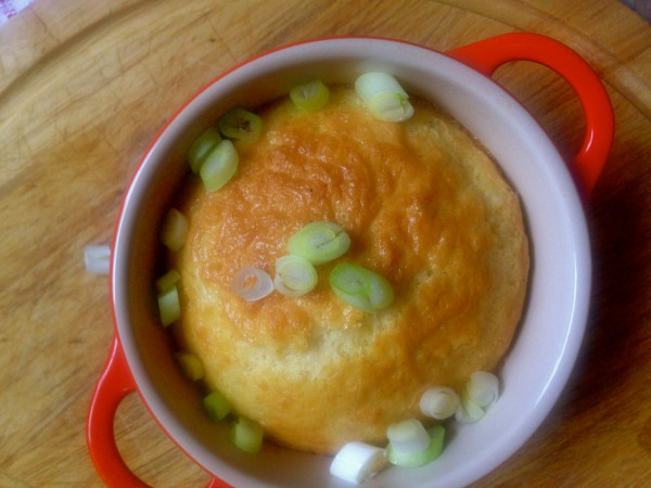 Baked cheese puddings