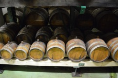 Balsamic vinegar barrels at Golles in Austria.
